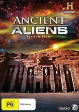 Ancient Aliens : Season 8 (DVD, 2016, 3-Disc Set) Brand New Sealed