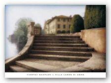 Villa Largo di Como Tim Wampler Art Print 24x36