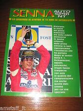 AUTOSPRINT 1995 INSERTO=LA LEGGENDA DI AYRTON SENNA IN 13 ANNI INTERVISTE=