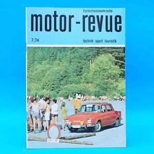 DDR Motor-Revue 7-1974  (tschechoslowakische) Skoda Jawa CZ Tatra