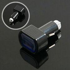 LED Car Van 12v 24v Battery Volt Voltage Meter Monitor Gauge Cigar Lighter Plug