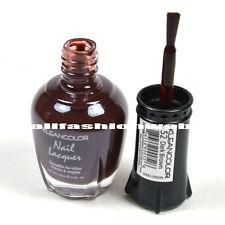 1 Kleancolor Nail Polish Lacquer #52 Dark Brown Manicure