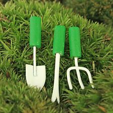 Gardening Tools Miniature ~ Hand Tools ~  Fairy Garden ~ Cake Decoration