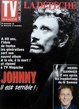 TV MAGAZINE 2002: JOHNNY HALLYDAY_MIREILLE MATHIEU_HENRI SANNIER