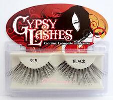NIB~ GYPSY #915 FALSE EYELASHES Fake Lashes Black Falsies Long Strip