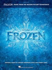 Frozen Sheet Music from Movie Soundtrack Ukulele Book NEW 000126551