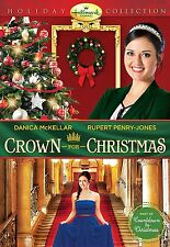 Crown for Christmas DVD Hallmark Channel Danica McKellar Film Allie Merry Family