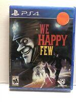 We Happy Few (Sony PlayStation 4, 2018) New Factory Sealed - Free Ship
