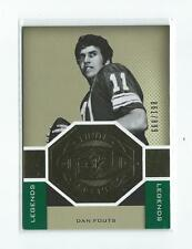 2013 SPx Finite  Dan Fouts Chargers Oregon /899
