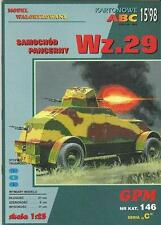 GPM 146 véhicule blindé wz.29 1:25