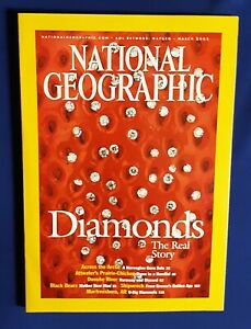 National Geographic Magazine-March 2002-Diamonds The Real Story-Across The Artic