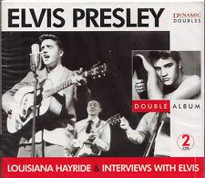 Elvis presley Louisiane Hayride & interview CD   2cd set article neuf sealed