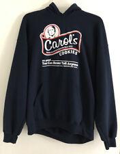 The Walking Dead Men's Large L Blue Sweatshirt Hooded Hoodie Carol's Cookies