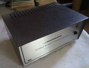 Used Micronta Model 22-125 Power Supply 60Hz 120VAC In x 13.8VDC 8 Amp Out