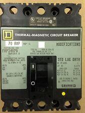 Square D Fap34070 Circuit Breaker - 3 Pole 70 Amp 480 Volt
