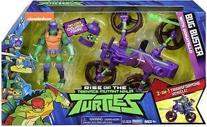 Rise of the Teenage Mutant Ninja Turtles Bug Buster Cycle + Exclusive Donatello