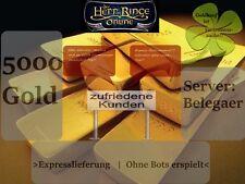 HDRO LOTRO Herr der Ringe Online Gold 5000 Gold Belegaer *Expresslieferung*