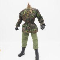 1/6 Scale Uniforms Outfits Coveralls WW2 Suit Jacket Pants for Action Figures