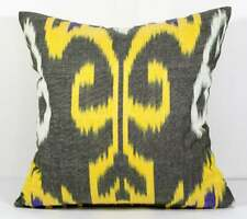 Yellow ikat pillow cover ikat Pillow Case Ikat Cushion Ikat throw pillow accent