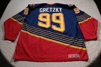 True Vintage Wayne Gretzky St. Louis Blues Jersey CCM Maska Original 2XL Hockey