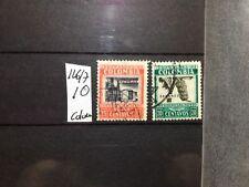 SELLOS DE COLOMBIA . USADOS.  YVERT Nº 126/7 . AEREOS