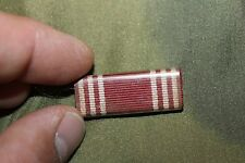 Original WW2 British Made U.S. Army/AAF Good Conduct Medal Ribbon Bar