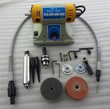TM-2 Jewelry Rock Polishing Buffer Machine Bench Lathe Polisher 350W 220V Y