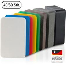 BAUHELD® Unterlegplatten Kunststoff 60x40 mm Montage Verglasungsklötze 40 80 Set