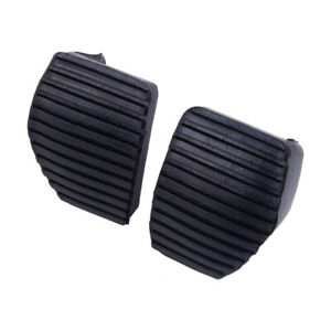 1Pair Clutch Brake Pedal Rubber Cover Fit For Peugeot 1007 207 208 307 308 lr