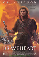 BRAVEHEART MOVIE POSTER MEL GIBSON Original Video One Sheet SAME AS THEATRICAL!