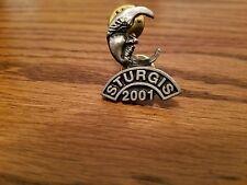 STURGIS 2001 Annual Bike Rally Vest Pin
