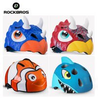 ROCKBROS Child Cartoon Cycling Helmets Safety Kids Boys Grils Bicycle Helmet New