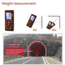 40M Handheld range finder Laser rangefinder Measure tool Area volume Measure