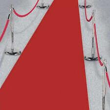 15ft Hollywood Party Red Carpet Scene Setter Fabric Floor Runner decoration