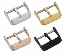 Stainless Steel Watch Needle Buckle Parts Watch Band Strap Clasp Link 18mm 20mm