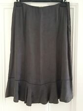 Ladies Whistles A-line Grey Skirt (size 12)