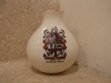WH GOSS CRESTED CHINA STOKE ON TRENT ANCIENT URN ST NEOTS HUNT GOSHAWK STAMP
