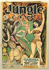 JUNGLE COMICS #104 (1948) GOOD (2.0) ~ FICTION HOUSE ~ KAANGA ~ JUNGLE COMIC