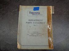 Triumph Tiger Cub T20 T20S SL T Replacement Parts Catalog  manual  #16   1054