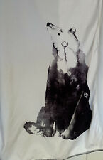 Marks & Spencer XL Bath Sheet / Towel Polar Bear Print New W98xL140cm RRP £30.00