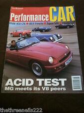 PERFORMANCE CAR - GINETTA G27 - AUG 1993