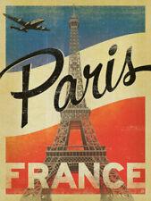 Paris France Travel Iron On T-Shirt Transfer A5