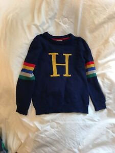 Mini boden boys size 7-8 Harry Potter H sweater (but fits more like a true 7)