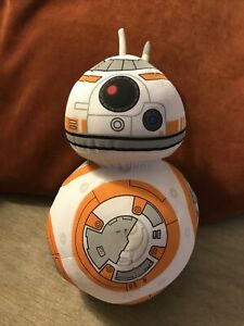 "Star Wars The Force Awakens 8"" Plush BB8 With  Sounds FX Soft Droid Toy 9"""
