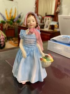 """ROYAL DOULTON,5""""TALL,1953,FIGURINE,WENDY,MADE IN ENGLAND."""