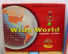 WIDE WORLD TRAVEL GAME PARKER BROTHERS AIR TRAVEL GAME BOXED COMPLETE