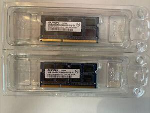 Elpida 4GB (2x2GB) Pack PC3-10600S-9-10-F1