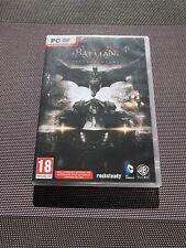 Batman Arkham Knight + DLC Harley Quinn - Jeu PC DVD Rom - Comme Neuf