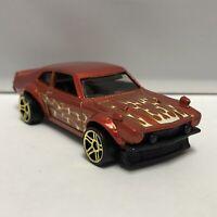 Hot Wheels Orange Custom 1972 Ford Maverick 1:64 Scale Diecast Toy Model Mattel