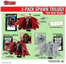 Todd McFarlane Classic Spawn - Kickstarter 3-PACK TRILOGY SET - Gold Autographed
